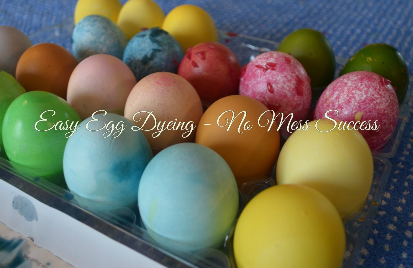 EASY EGG DYEING – NO MESS SUCCESS! – The Playful Parent